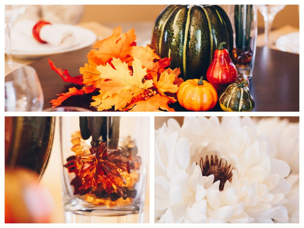 fall themed table