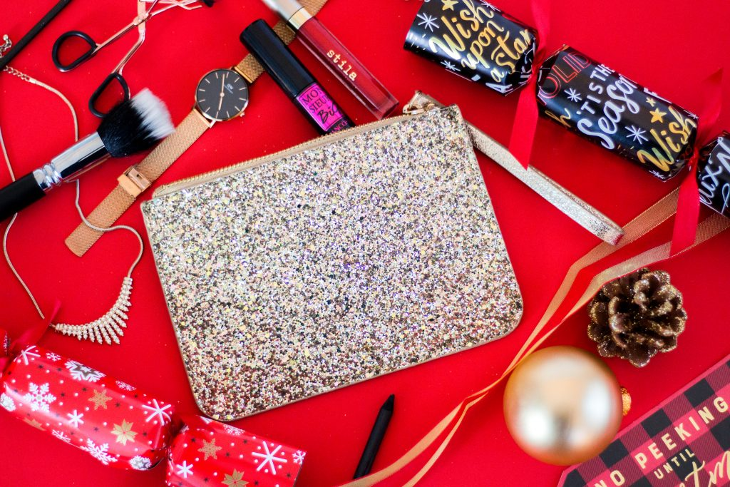 Holiday Must-Haves - Sequin Clutch #1